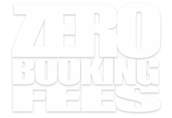 zero booking fees